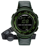 """Suunto Vector - Dark Green, with Heart Rate Monitor Outdoor Sports Watch - SS018730000 Brand New Includes 2 Year Manufacturer's Warranty, The Suunto Vector with HRM watch has technology and durability to take on the harshest of environments and serves as altimeter, barometer, electronic compass, heart rate monitor for hard core adventurists"