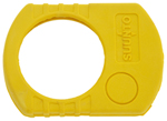 Rubber cover can be used to protect all the different Suunto KB-14 and PM-5 models. The rubber cover is in yellow to make it more visible, and it is made of a saltwater and UV-resistant mixture of EPDM and natural rubber. Additionally, the rubber cover is easy to hold while wearing gloves.